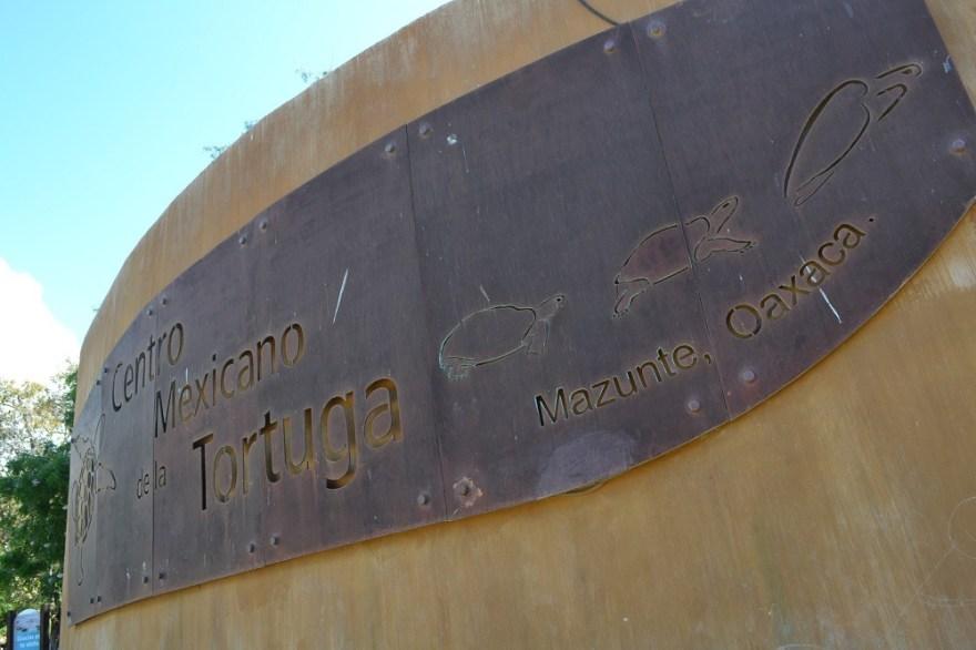 マスンテのウミガメ水族館看板の写真