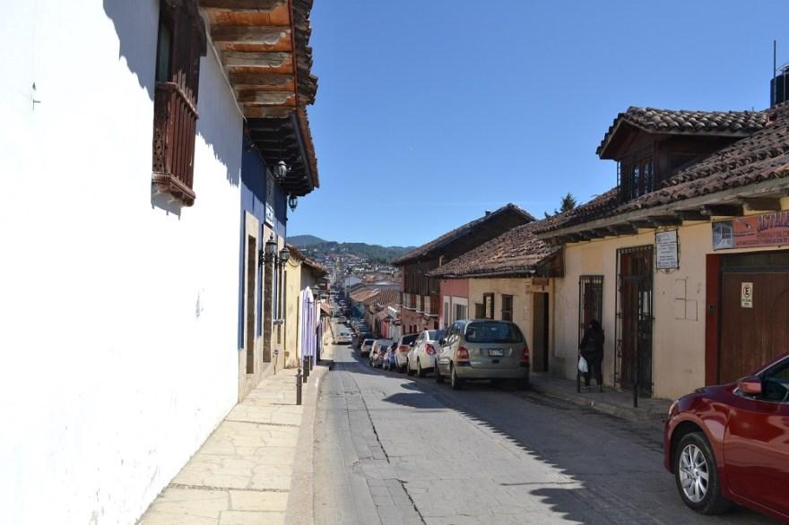 サンクリストバル・デ・ラス・カサスの町並みの写真