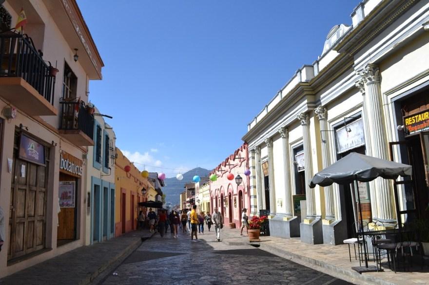 サンクリストバル・デ・ラス・カサスの観光通りの写真