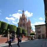 メキシコ・サンミゲルの教会の写真