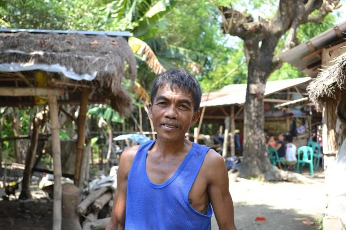 フィリピン人のおじちゃんの写真