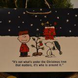 スヌーピーのクリスマスツリーの写真