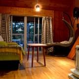 山梨県Airbnb一軒家(リビング)の写真