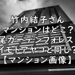 竹内結子 マンション どこ 広尾ガーデンフォレスト 画像