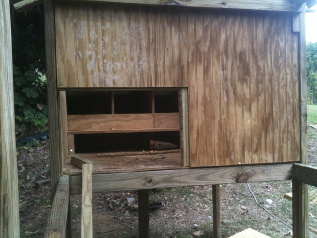 Hen-House-Enterance