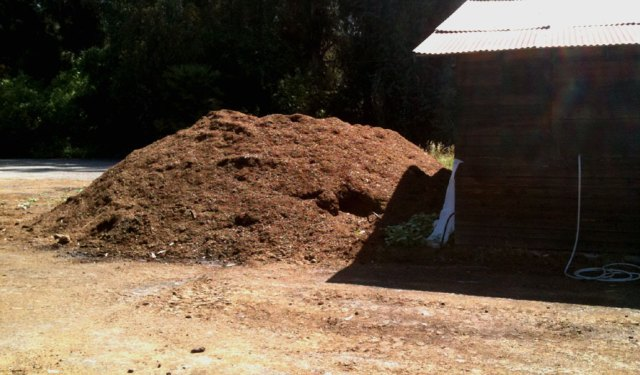Compost Water Heating System