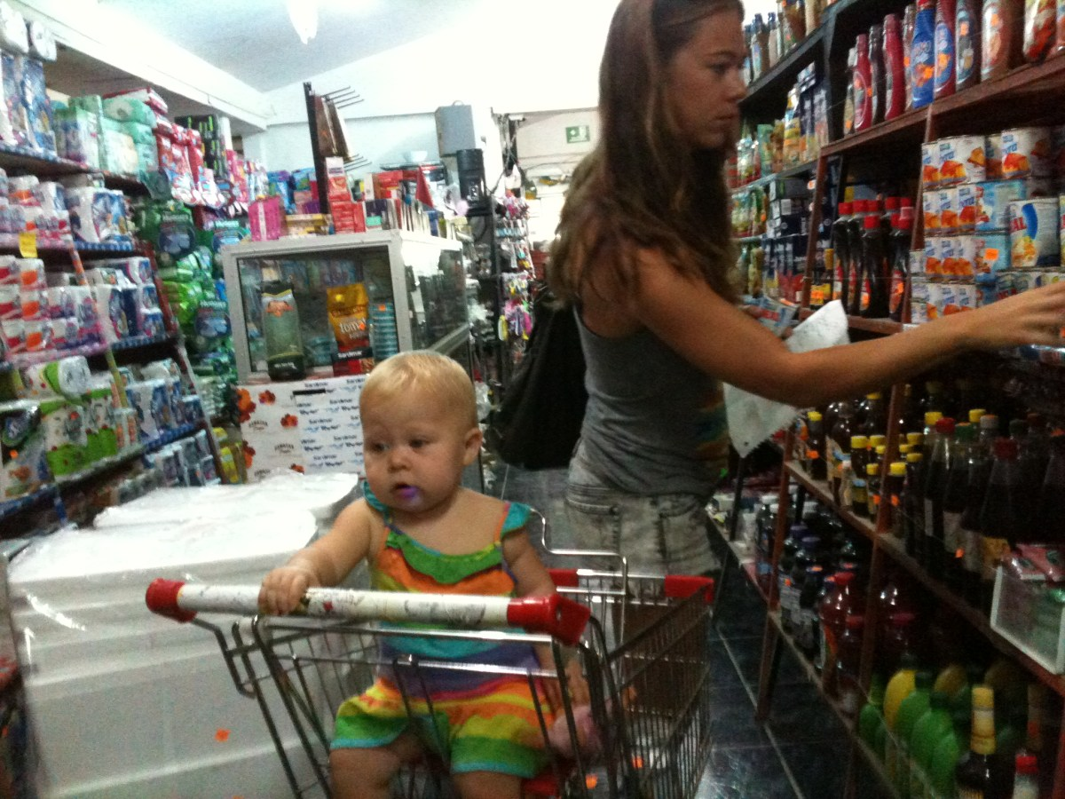 Grocery Shopping in Santa Teresa