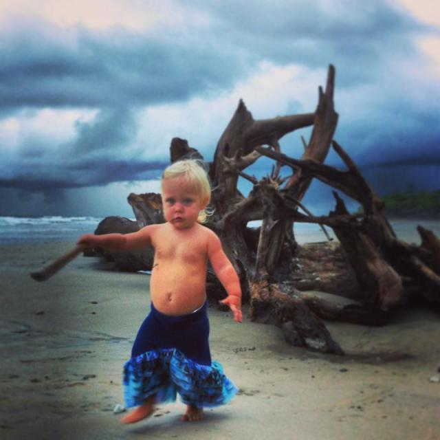 warrior-baby