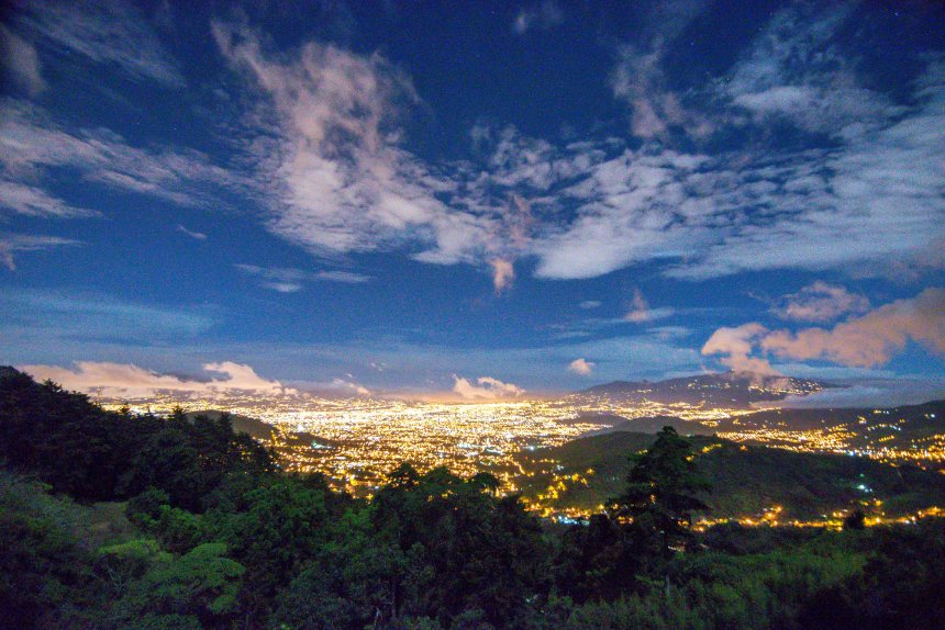 Costa Rica Mountain Home View