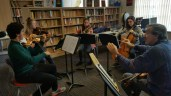 Tchaikovsky quartet gets a work out with Levon Chilingirian © Hattie Rayfield
