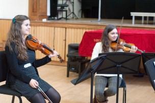Inaugural Chamber Music Academy quartet coaching, Nov 2014 Photo © Chloe Hayes