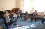 Brahms Sextet in full swing