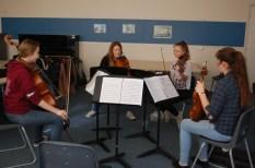 Stephanie Edmundson coaching some Borodin from the viola