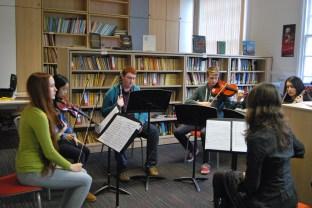 Mozart Clarinet Quintet © Hattie Rayfield