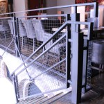 Indoor Railing with Mesh Infill (4)