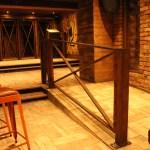 Painted Rust Effect Railing (2)
