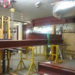 10 - Lifting beams into position