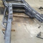 3 - Railings ready for galvanising
