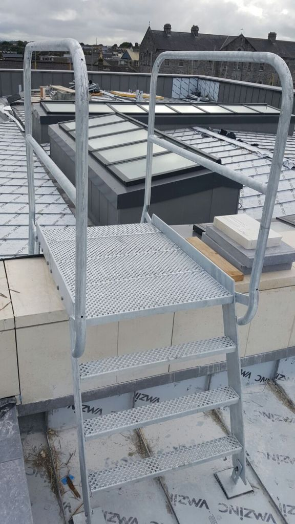 5 - Roof access ladder