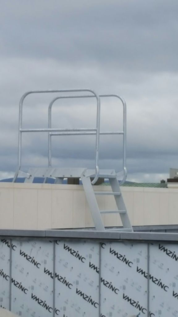7 - Roof access ladder
