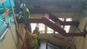 Clayton Hotel - Structural Stairs (4)