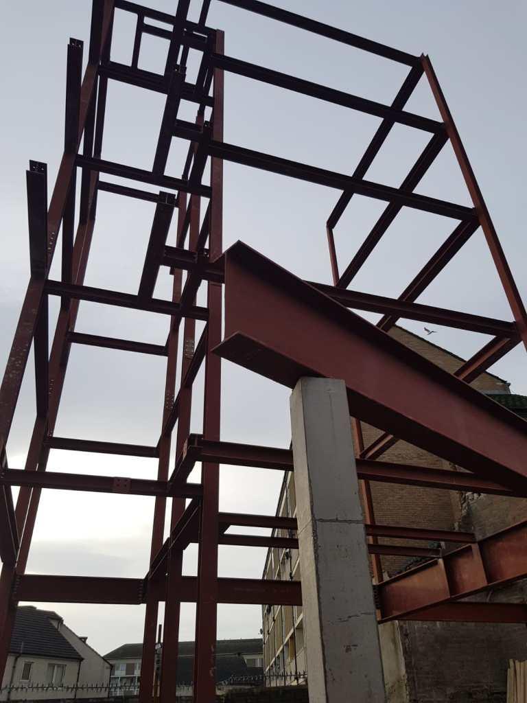10 - Structural steel installation Popular Row