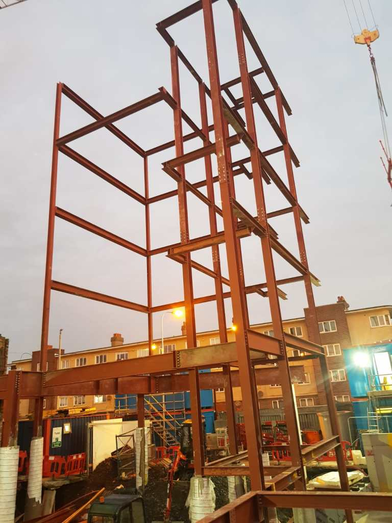 11 - Structural steel installation Popular Row