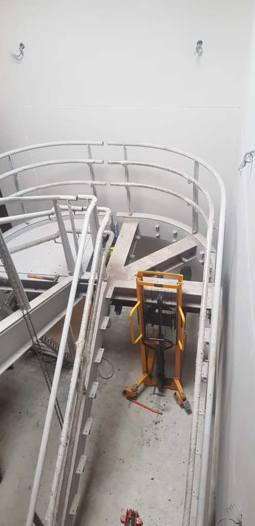 3 - Installation of feature stairs Peamount Hospital