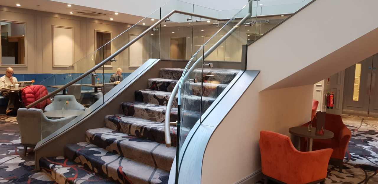 Feature staircase Clayton Hotel, Ballsbridge (10)