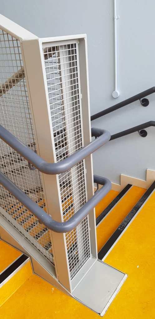 Stair Core hand rail, balustrade installation (12)