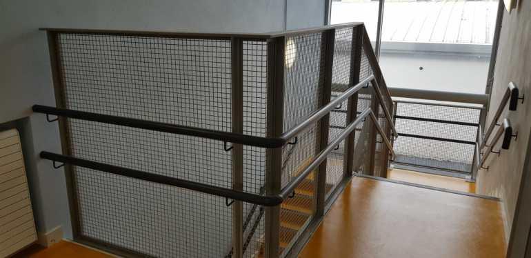 Stair Core hand rail, balustrade installation (13)