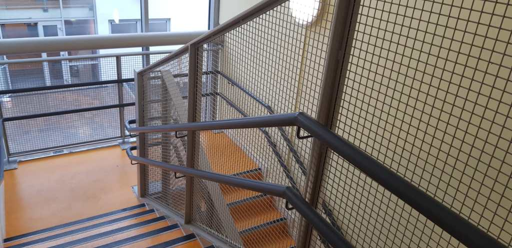 Stair Core hand rail, balustrade installation (6)