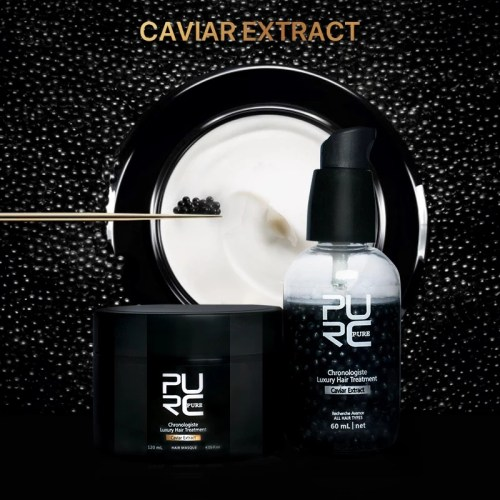 Caviar Extract Hair Treatment Kit photo review