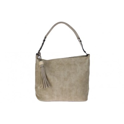 bag in bag canvas print taupe