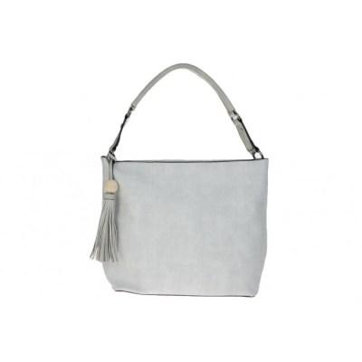 bag in bag canvas print licht grijs