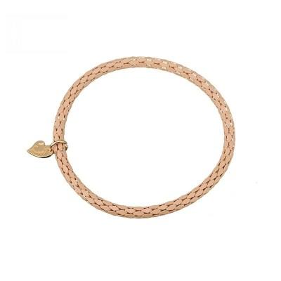 bruine armband dun