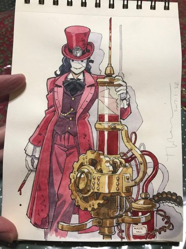 Steampunk Doctor by Dad