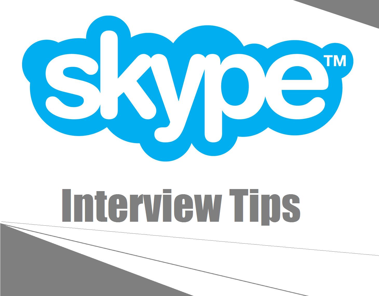 hight resolution of skype interviews