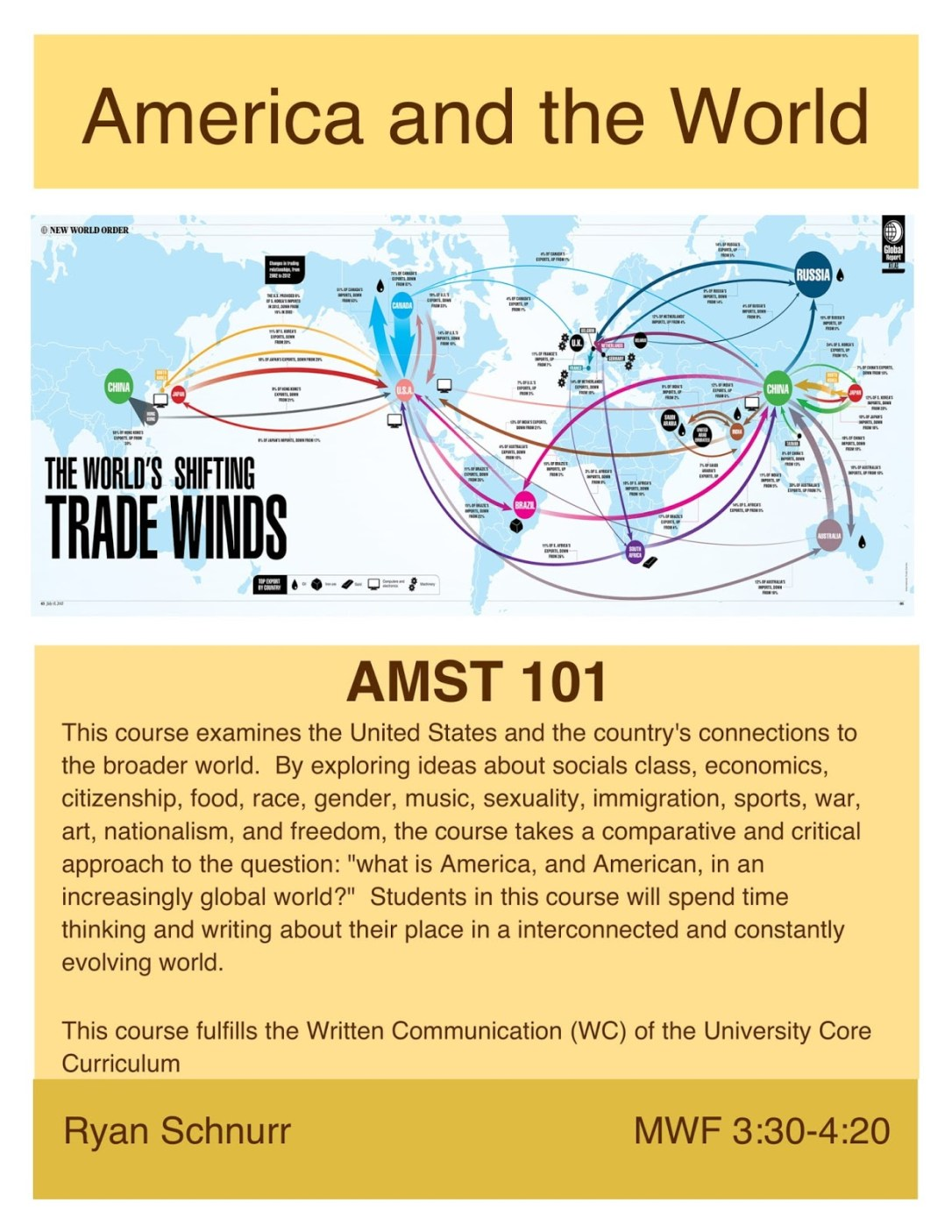FA 18__AMST 101__America and the World__Schnurr-1