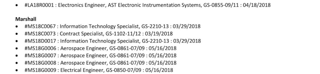 NASA Job Vacancies-2