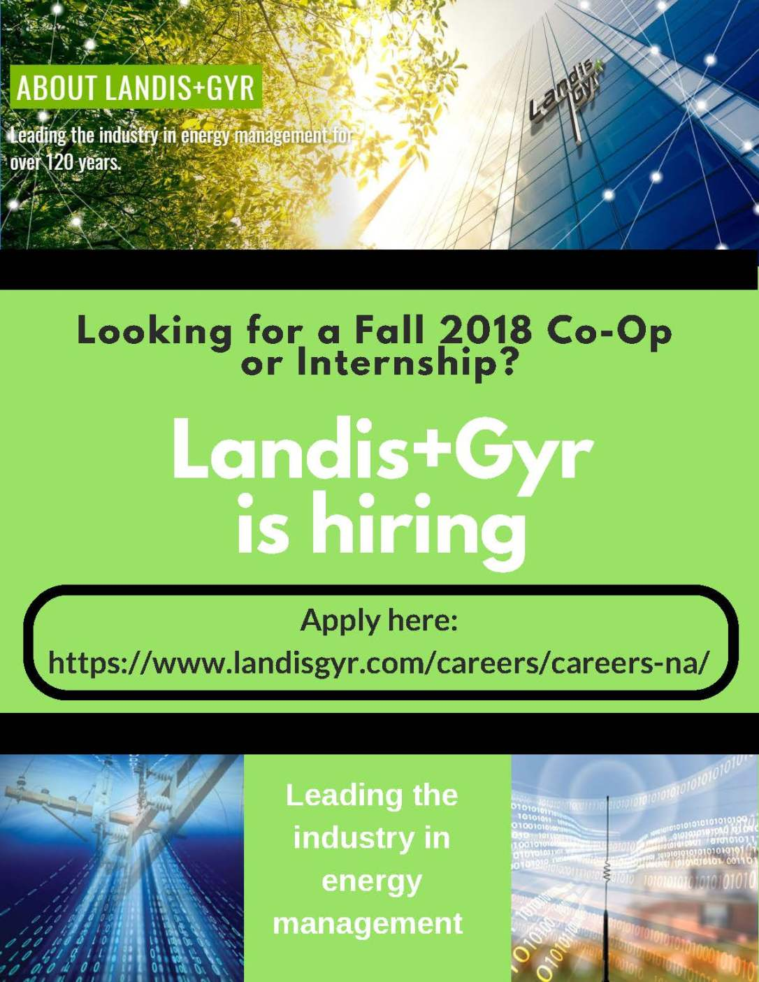 Landis+Gyr Co-op Intern