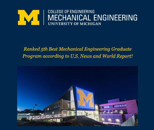 Michigan ME Grad School