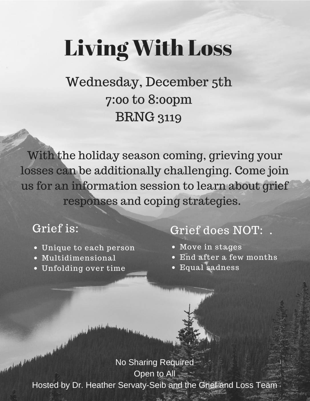 Living with Loss Flyer-1