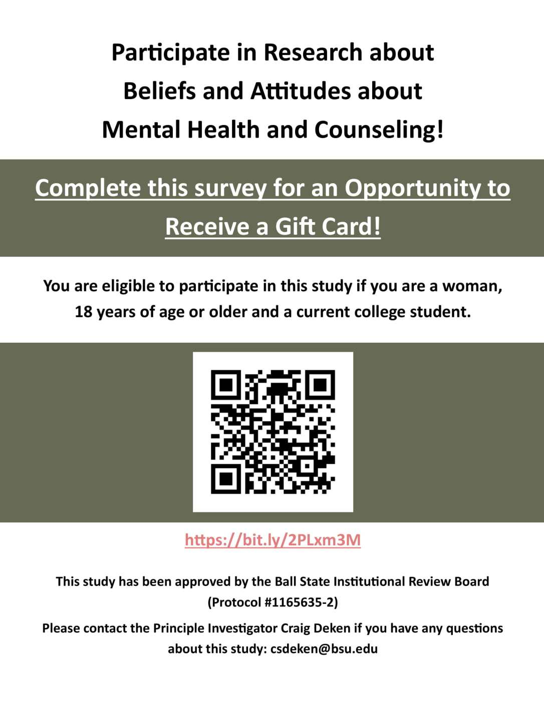 Survey Concerning Beliefs and Attitudes about Mental Health