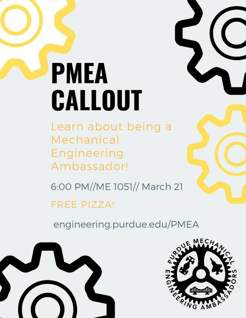PMEA Flyer