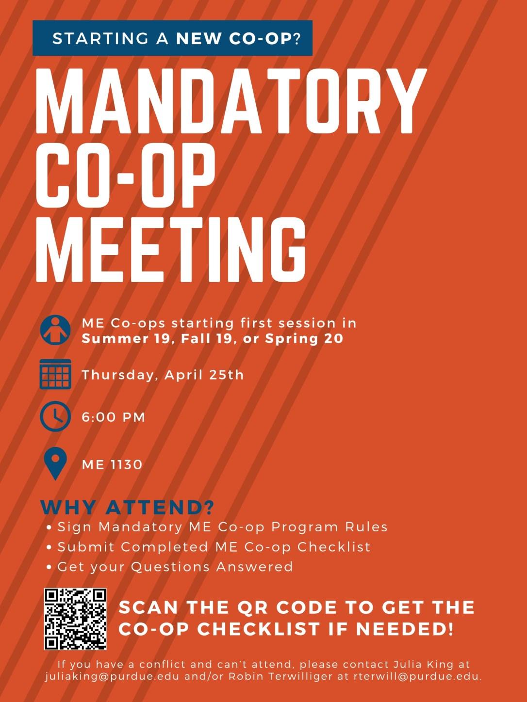Co-Op Meeting