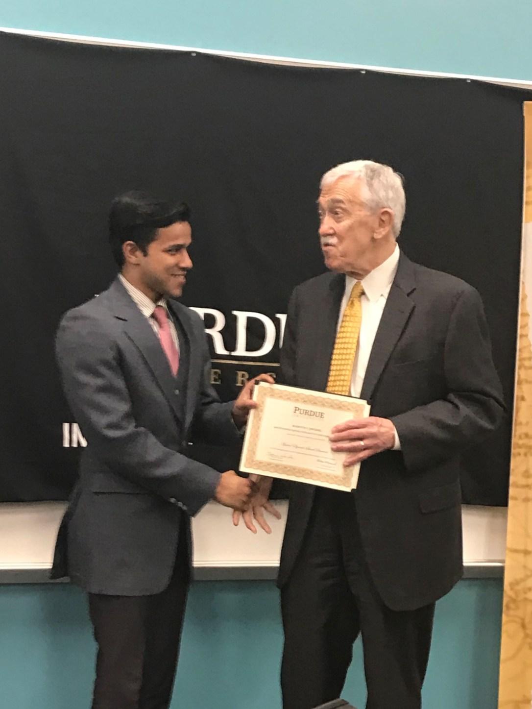 Mukul OIS Award