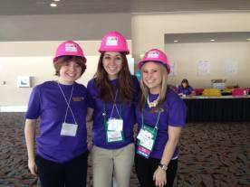 Hard hats PSWE group