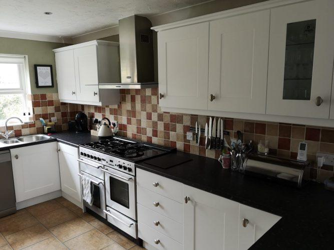 kitchen spraying Basingstoke