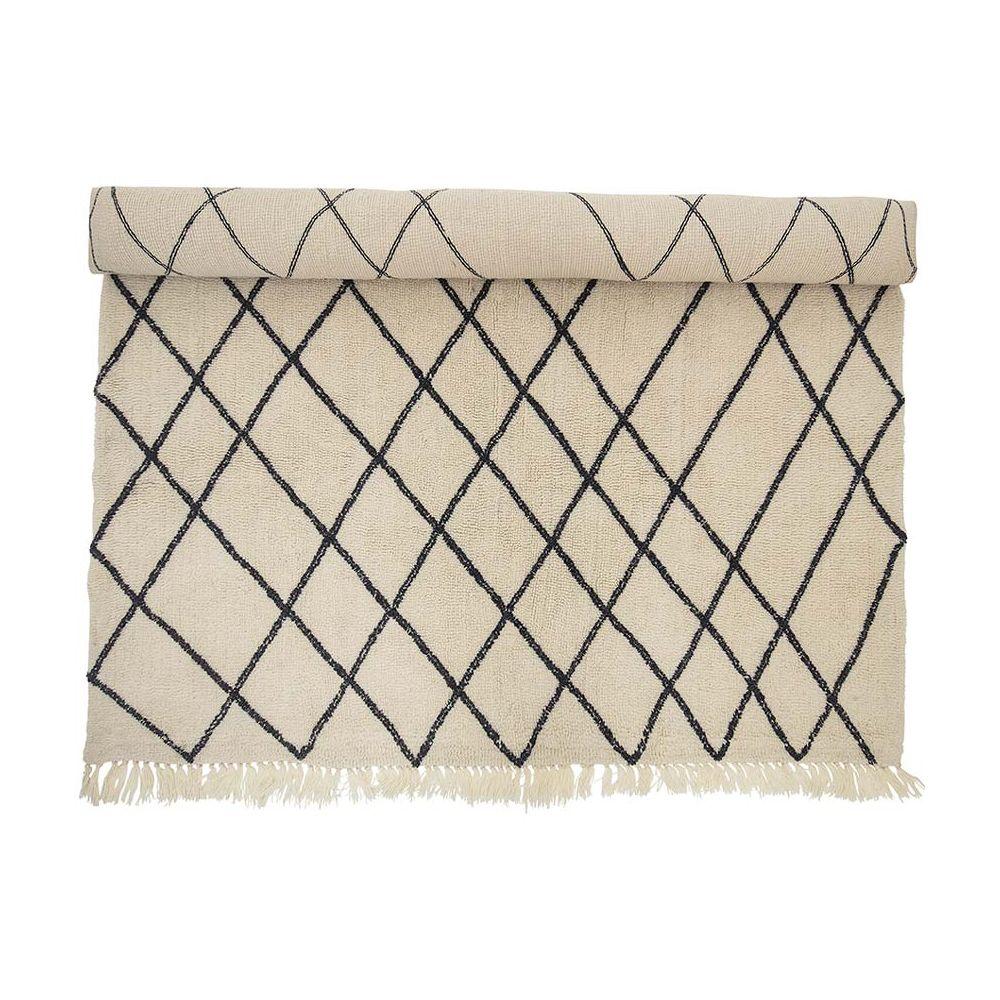 tapis en laine berbere bloomingville